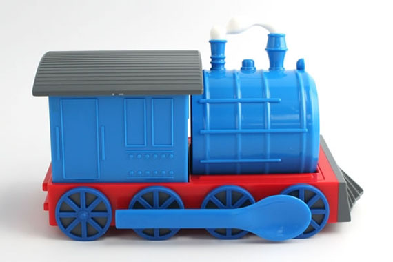 Not Just For Kids: Train Dish Set