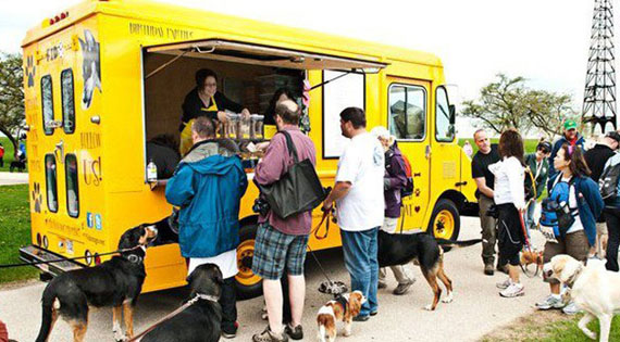 Fido To Go: A Food Truck For Dogs