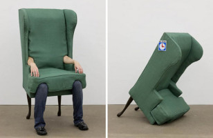Wearable Furniture: The Human Chair