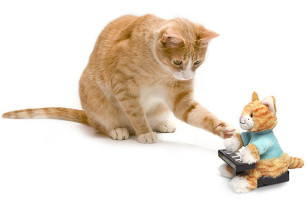 Play Him Off, Animatronic Keyboard Cat Plush Toy!