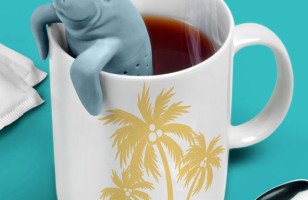 ManaTea: A Sea Cow Shaped Tea Infuser