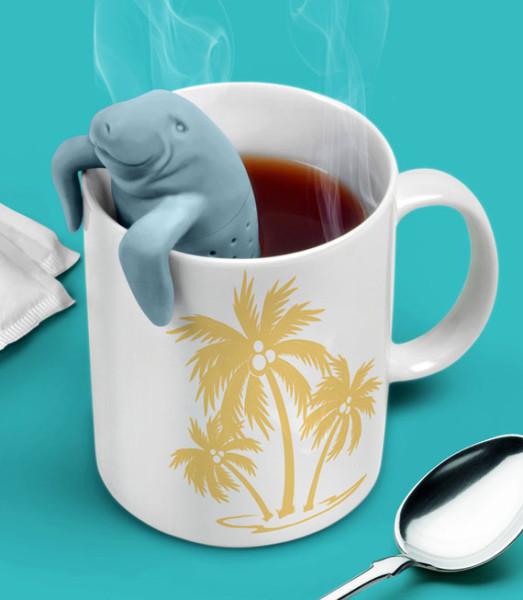 ManaTea: A Sea Cow Shaped Tea Infuser