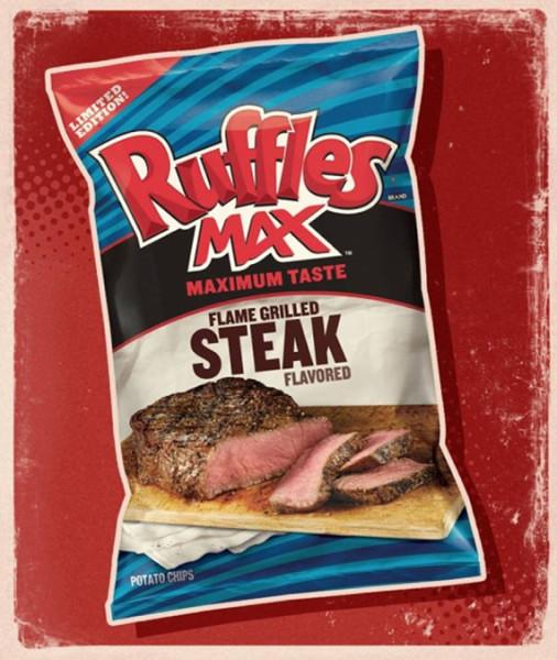 Steak-Flavored Ruffles Potato Chips