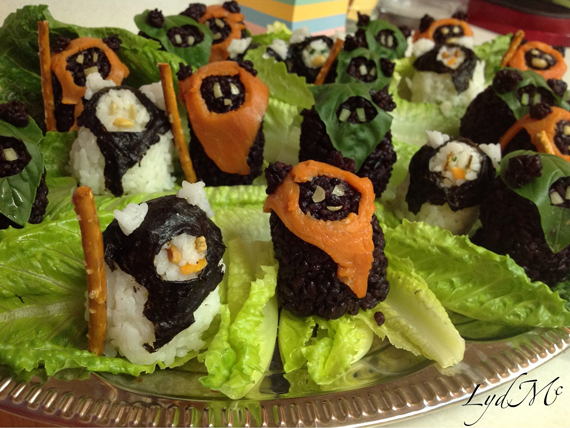 The Fish Is Strong With This One: Star Wars Ewok Sushi