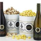 Wine Flavored Popcorn