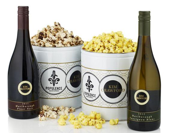 Food & Drank: Wine-Infused Popcorn