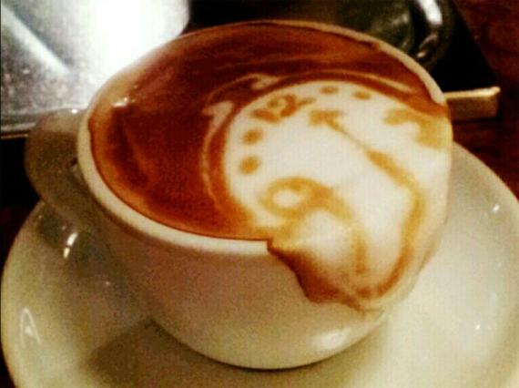 Latte Art Gets Surreal