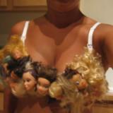 Barbie Head Bra