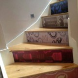 Book Stairs Wall Sticker