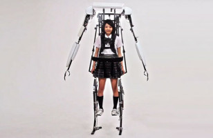 An Exoskeleton To Make You Taller