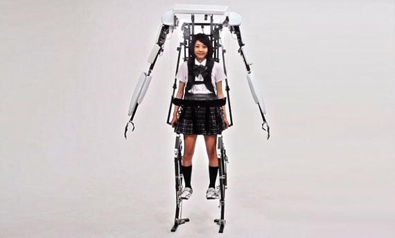 Exoskeleton Make You Taller Incredible Things