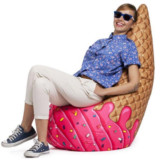 Ice Cream Cone Bean Bag Chair