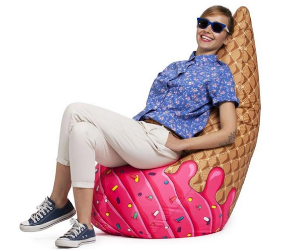 We All Scream For Bean Bag Chairs Incredible Things