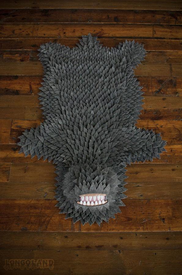 Monster Skin Rugs Incredible Things