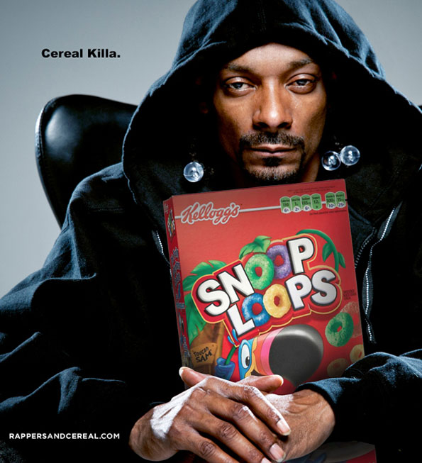 Rappers As Cereal Mascots