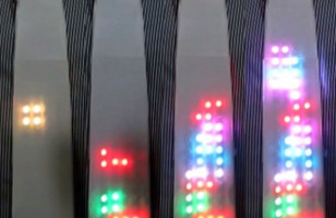 Fun Fashion: Playable LED Tetris Tie