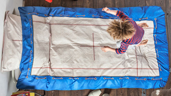Turn Your Bed Into A Trampoline Incredible Things
