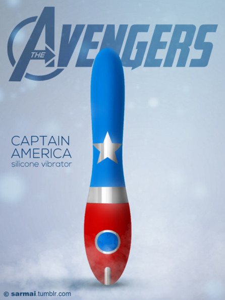 Avengers Themed Sex Toys