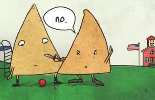 Guy Animates His Wife's Drunken Joke About Tortilla Chips