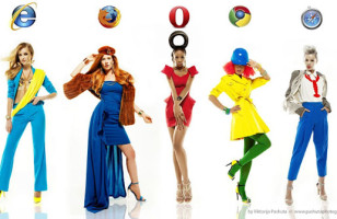 Women Dressed As Browsers