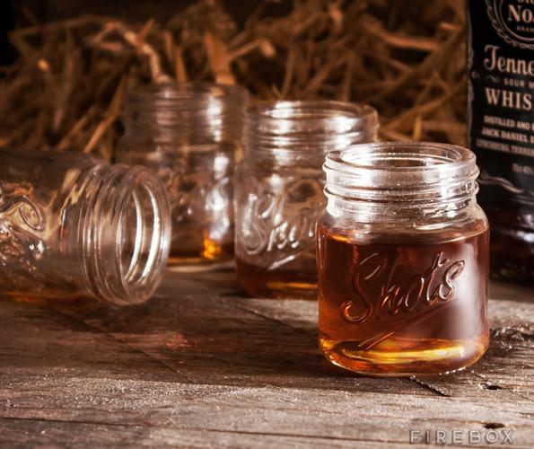 Finally! Shot Glasses To Match Your Mason Jar Drinkware