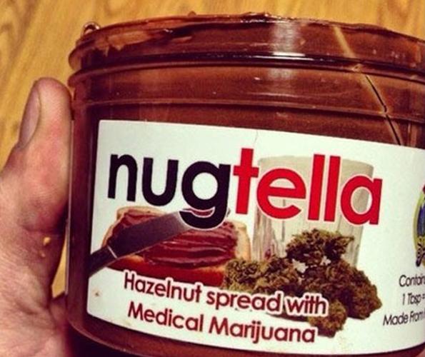 Nugtella - Nutella with Weed In It | Incredible Things