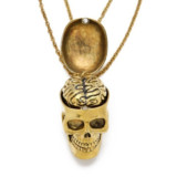 Skull & Brain BFF Necklaces