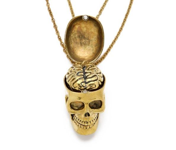 Skull & Brain BFF Necklaces