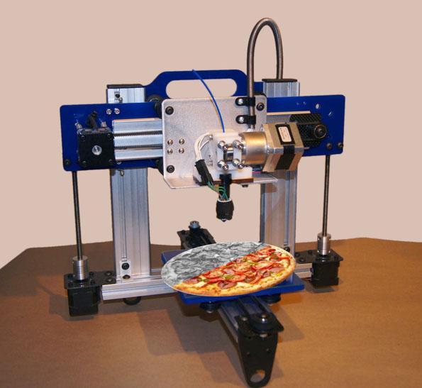 s3d printer pizza nasa - photo #10