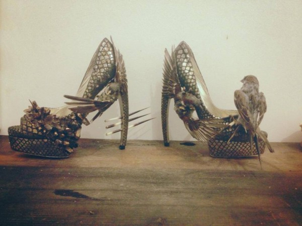 Fashion is Dead and So Are The Birds on These Shoes