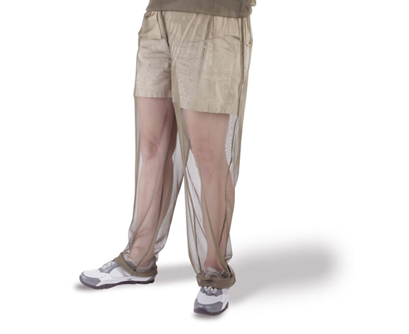 Not Silly and Totally Practical: Mosquito Net Pants