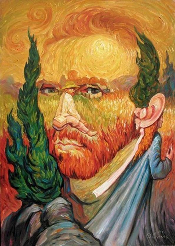Optical Illusions Portraits