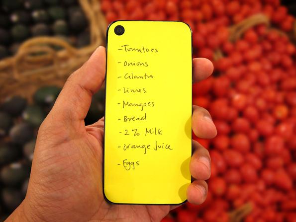 Post-It, Meet iPhone