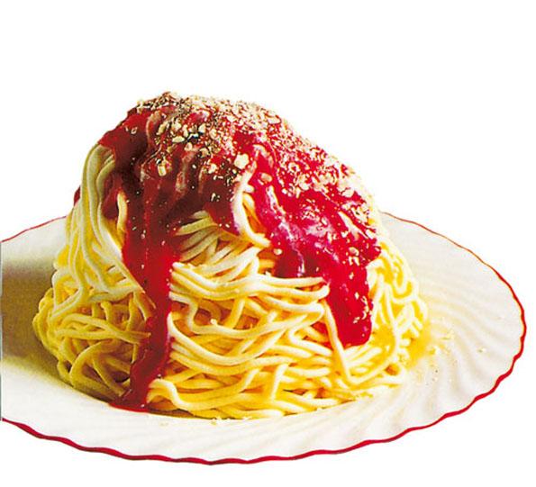 Spaghetti Ice Cream