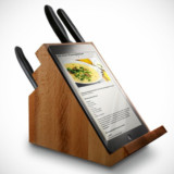 iPad Knife Block