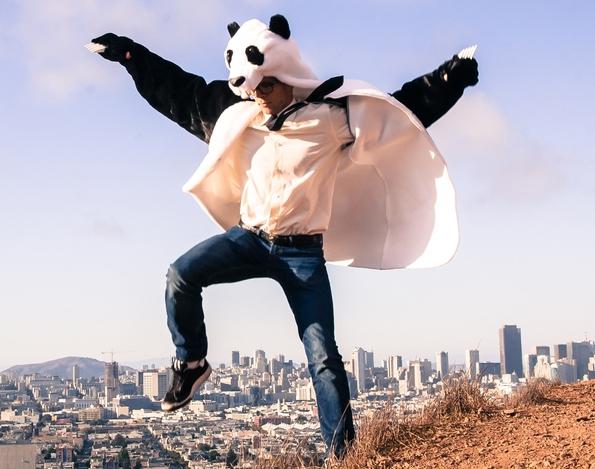 Panda Coat: It's Not a Costume, But a Lifestyle