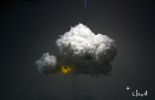 A Cloud Lamp That Thunders And Lightnings Like A Real Cloud