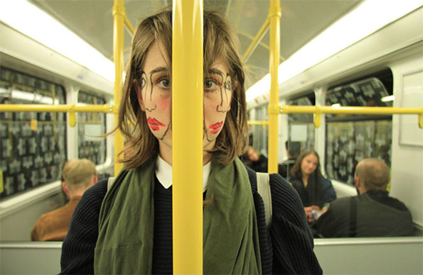 Doublefaced: A Bizarre Photoseries
