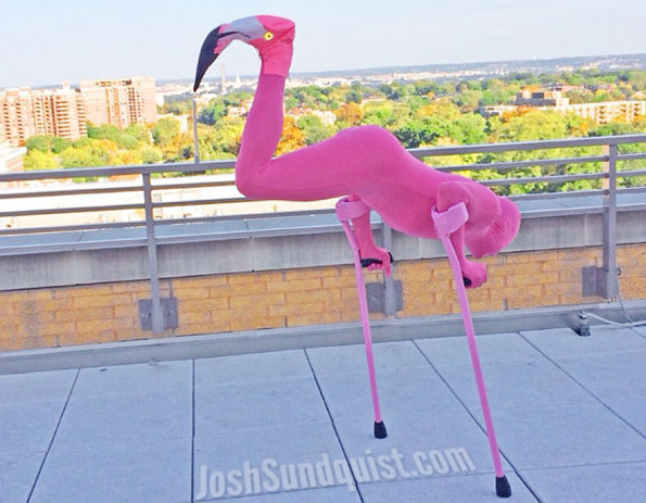 One-Legged Paralympian's Costume