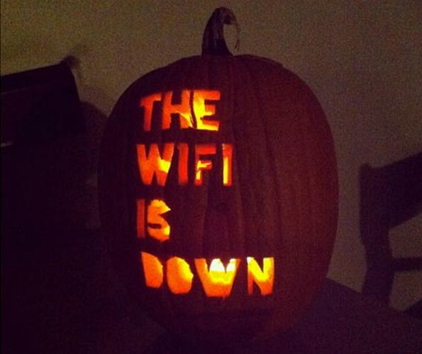 The Scariest Pumpkin Ever…