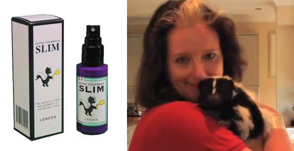 Stink Yourself Slim Helps You Lose Your Appetite
