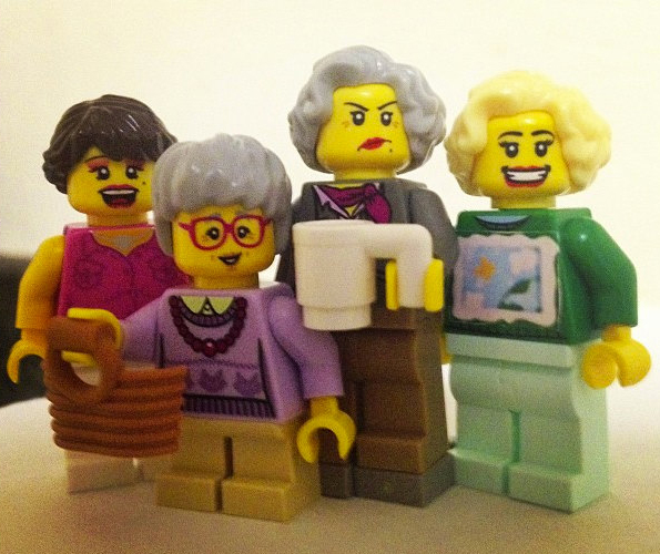 Golden Girls LEGOs: Thank You For Being a Minifig