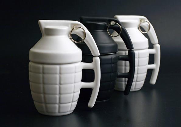 Grenade Mug Makes Mornings A Blast