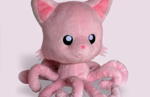 Get Your Suckers on This Tentacle Kitty Plushie