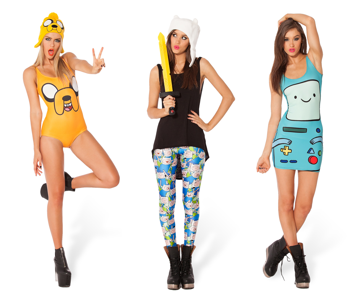 Black Milk x Adventure Time Collection