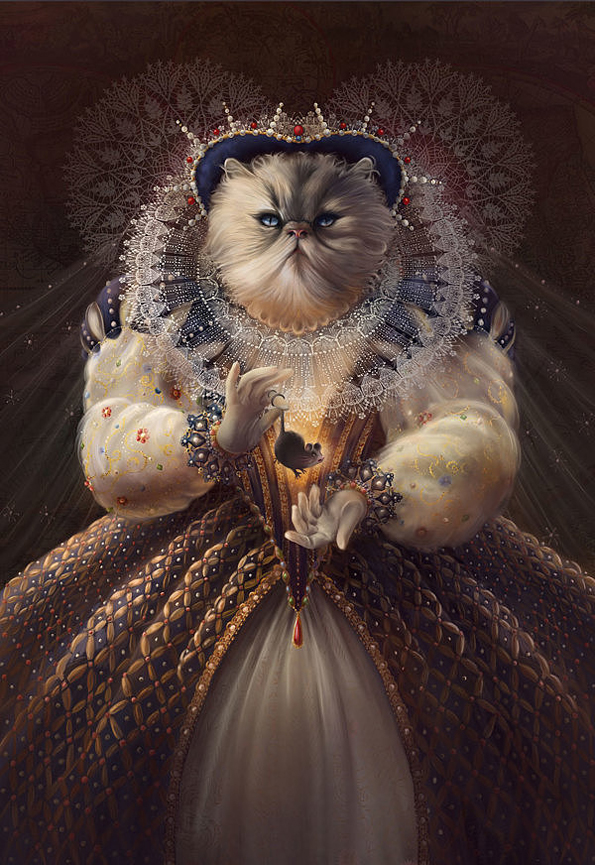 Animals Illustrated As Historical Figures