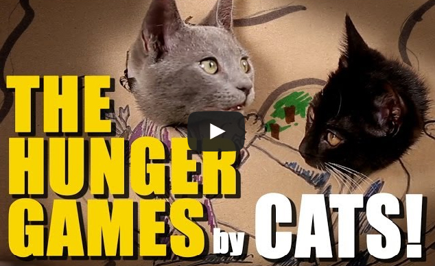 Hunger Games Remake By... Cats?
