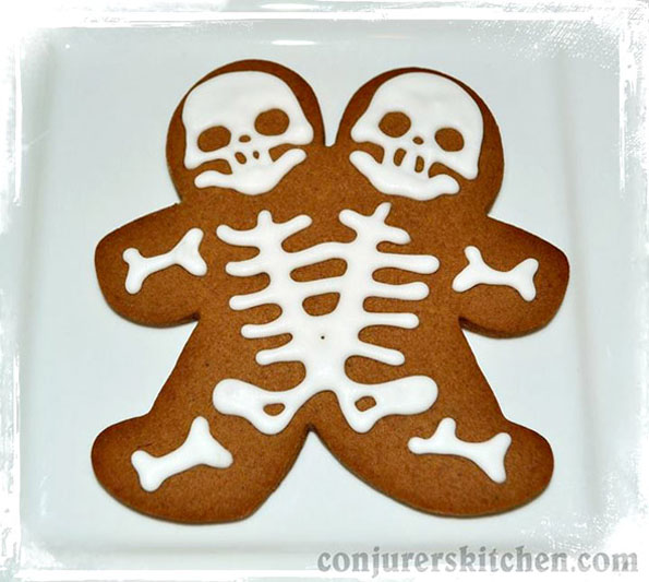 Siamese Gingerbread Twins