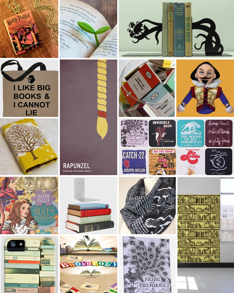 these gifts for book lovers are too cool for school | incredible things