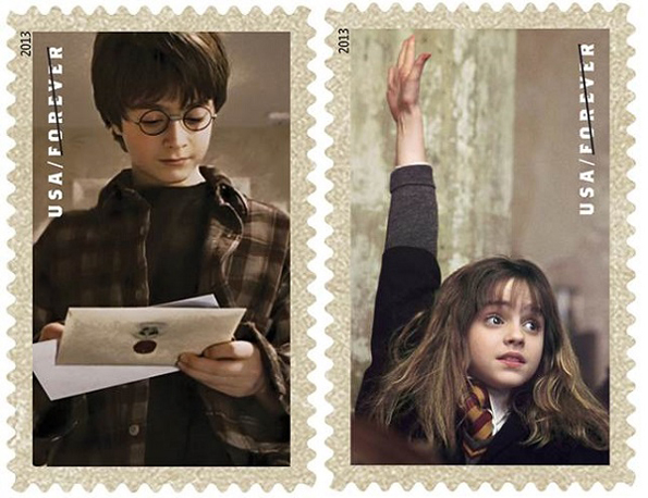 USPS Selling Harry Potter Stamps